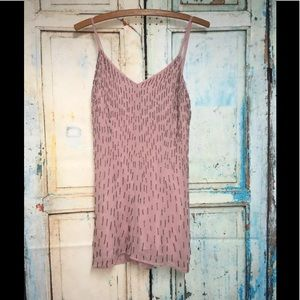 NEW Anthropologie NFC Jeweled Romper Size XS